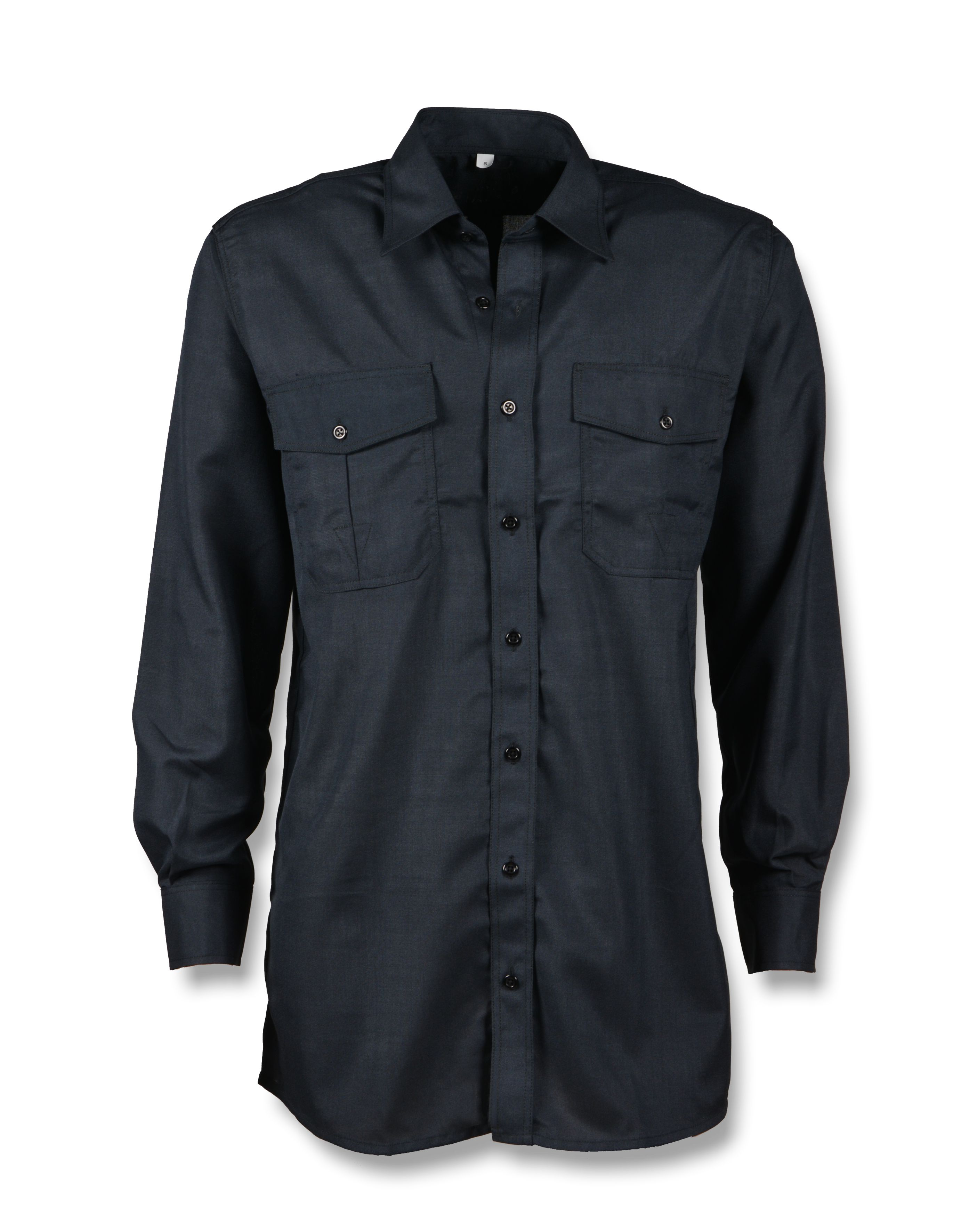 Het Overhemd.B204nxcbw Overhemd Lange Mouw Blauw Pwg Veiligheidskleding