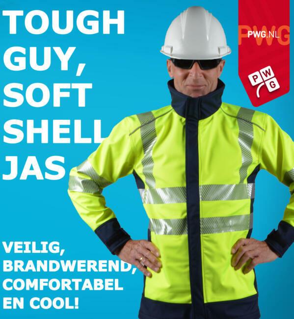 Soft Shell Veiligheidsjas PWG